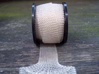 "12"" of Antique Silver Knitted Wire"