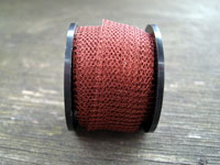 "12"" of Brown Knitted Wire"