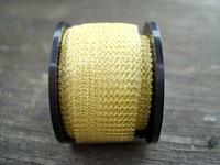 "12 "" of Champagne Knitted Wire"