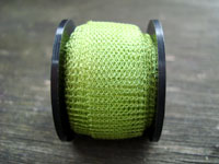 "12 "" of Green Chartreuse Knitted Wire"