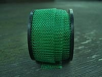 "12"" of Leaf Green Knitted Wire"