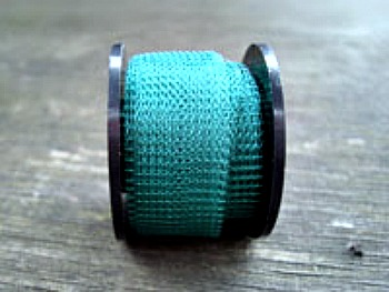"12"" of Turquoise Colored Knitted Wire"