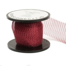 "12 "" of Wine Knitted Wire"