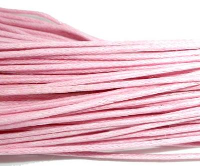 80M x1mm of Pink Waxed Cord