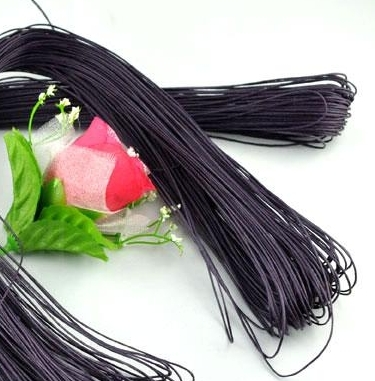 80M x1mm of Purple Waxed Cord